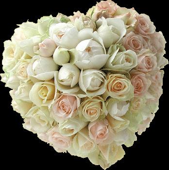 Tubes mariage accessoires for Bouquet de fleurs coeur