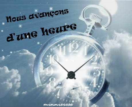 changement d heure