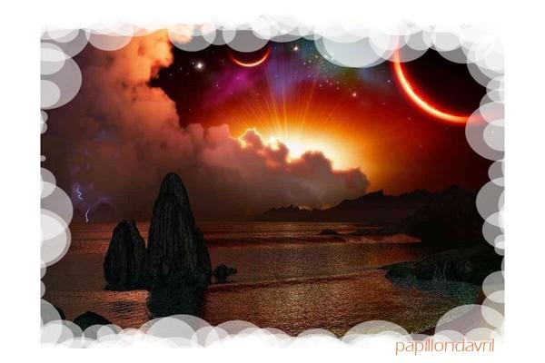 fond ecran couchers de soleil