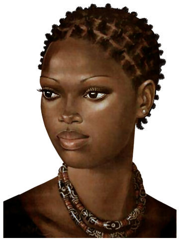 Dessin De Femme Africaine tubes africains - page 4