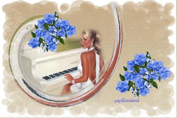 fond ecran musique