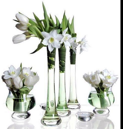tubes vases