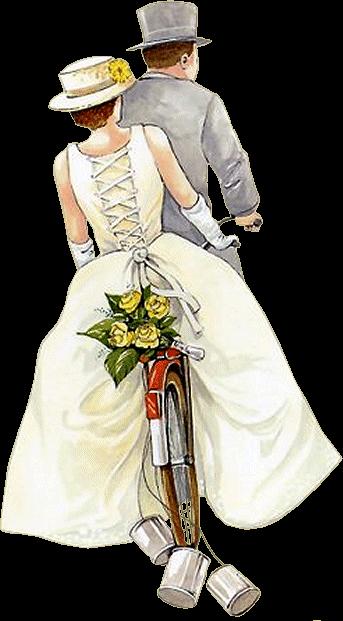 Tubes mariage couple - Robe de mariee bustier transparent ...