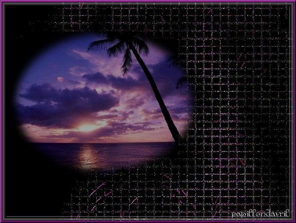 fond couchers de soleil