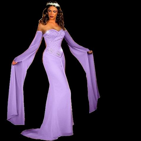 tubes femems en robes longues