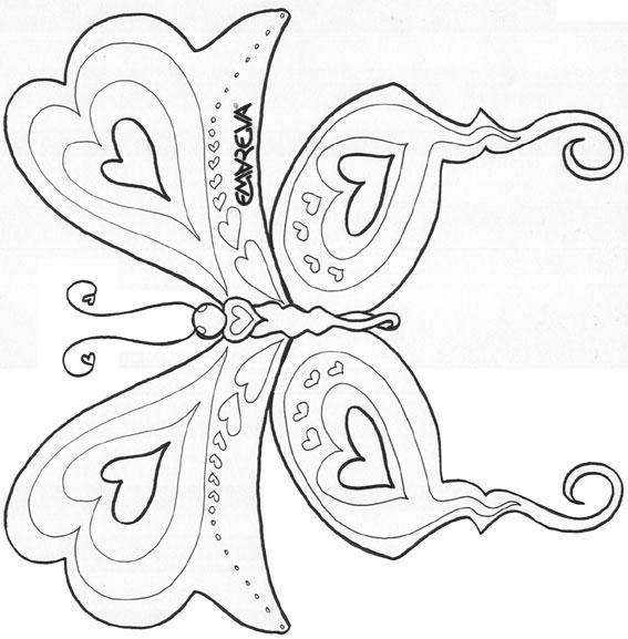 Coloriages papillons - Coloriage a imprimer papillon ...