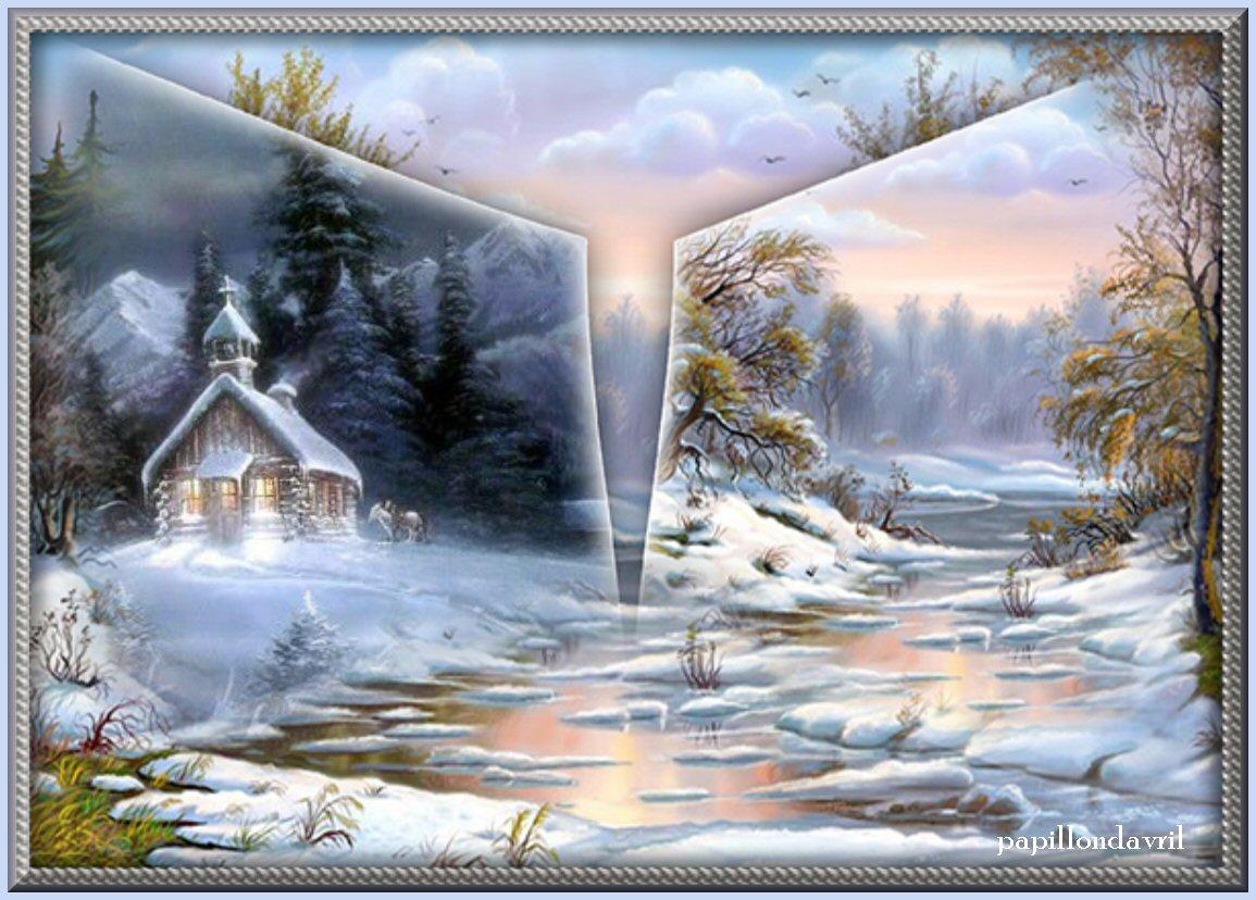 Fond ecran hiver noel page 29 for Enregistrer image ecran