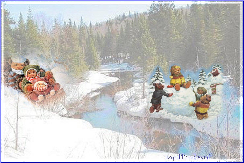 Fond ecran hiver noel page 6 for Fond ecran gratuit hiver noel