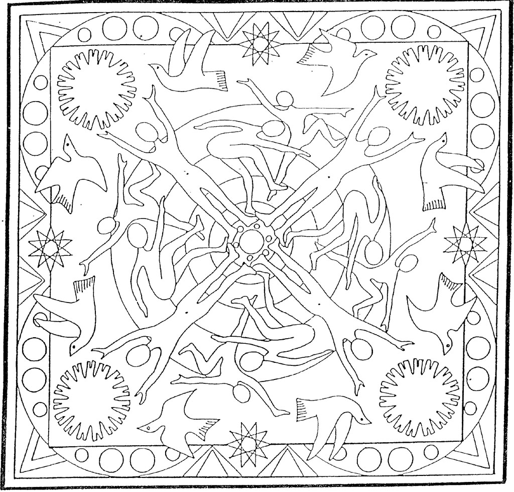 Coloriages mandalas - Mandala colorier ...