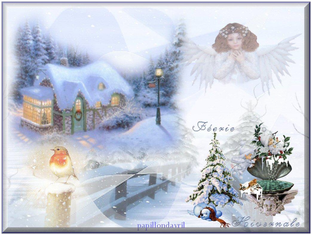 Fond ecran hiver noel page 7 for Fond ecran gratuit hiver noel